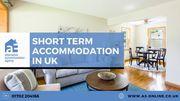 Short Term Accommodation | Short Term Property Rental in Essex