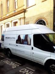 Mobile Sandblasting in Essex & london| Anglian Blasting