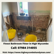 Get Finest Bathroom Fitter in High Wycombe